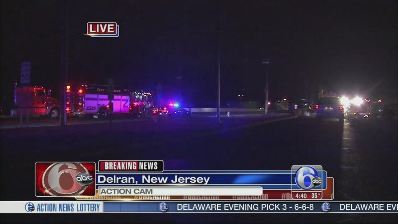 VIDEO: 3- car crash on Route 130 in Delran
