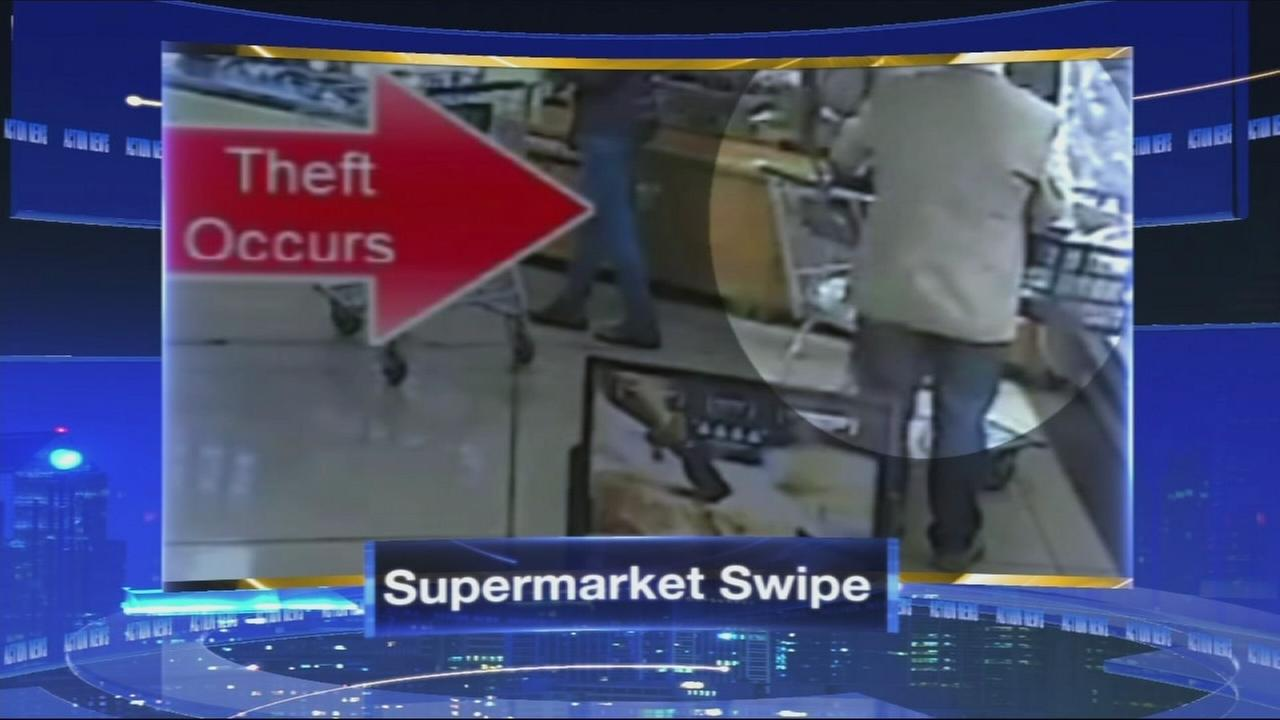 VIDEO: Supermarket swipe