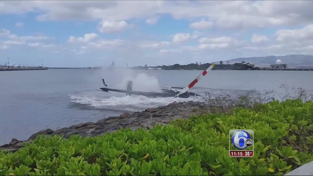 VIDEO: Chopper crash