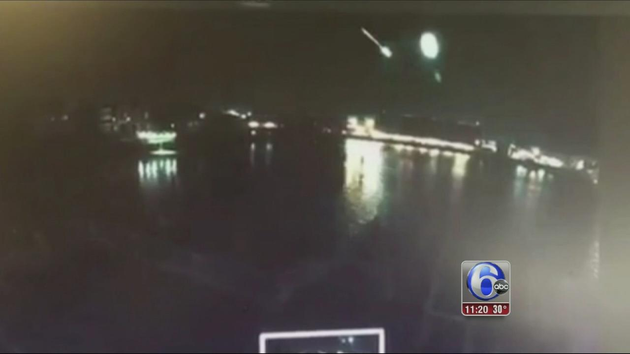 VIDEO: Meteor spotted