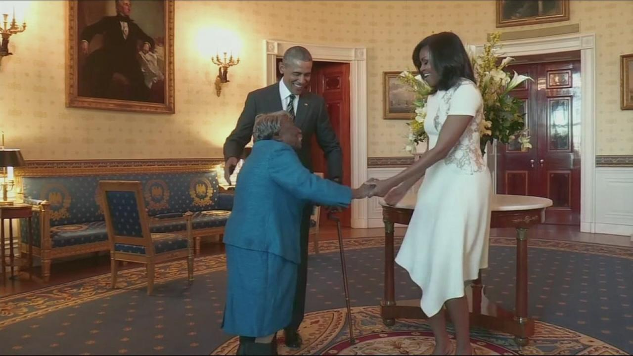 VIDEO: 106-year-old meets the Obamas