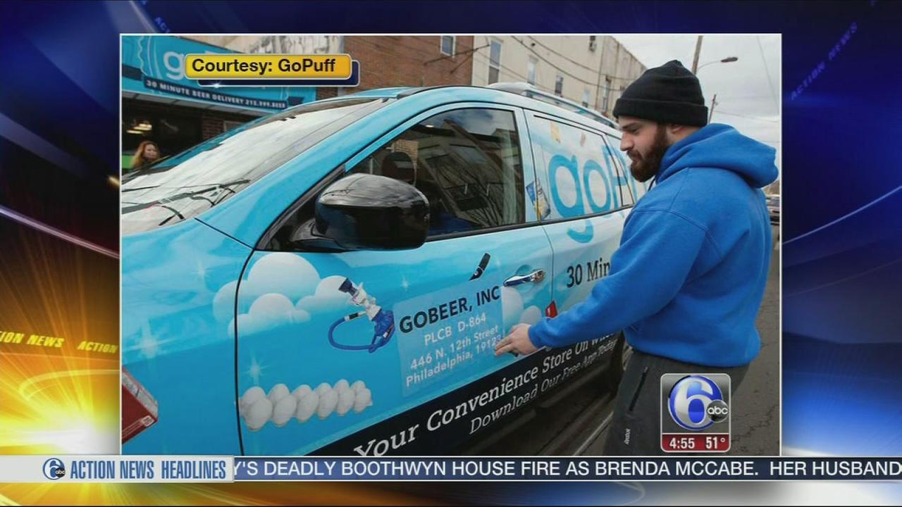 VIDEO: goPuff app promises convenience at you door in 30 mins