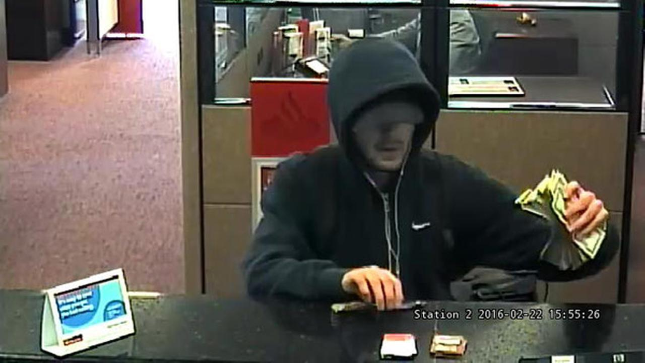 Montgomery County knife-wielding bank robber arrested