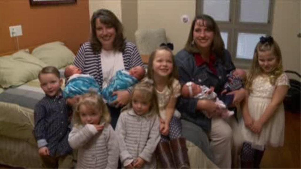 Twins have 2 sets of twins in Utah