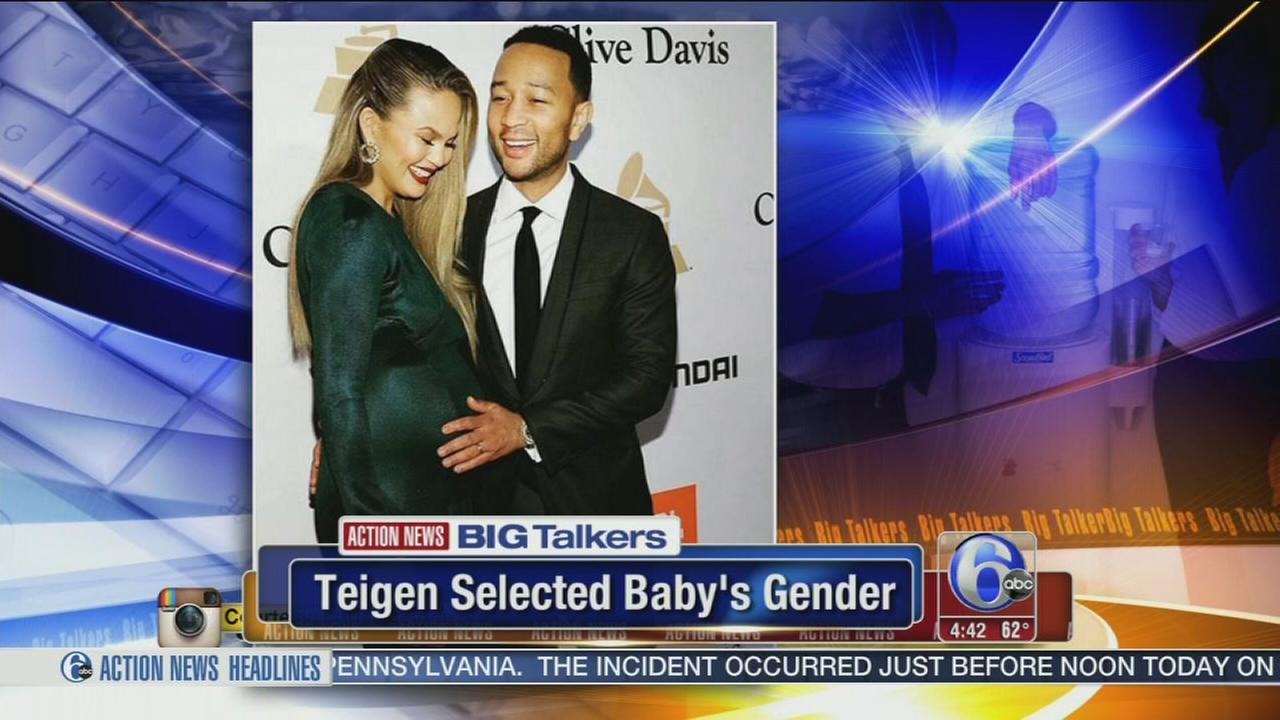 VIDEO: Chrissy Tiegen selected babys gender before IVF