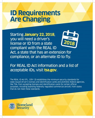 In january 2018 pennsylvania drivers license not valid id for the act established minimum security standards for state issued drivers licenses and identification cards and prohibits federal agencies from accepting for ccuart Images