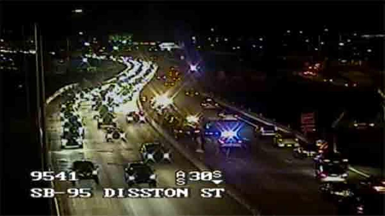 Police are investigating after two separate accidents involving 12 vehicles on I-95 northbound.