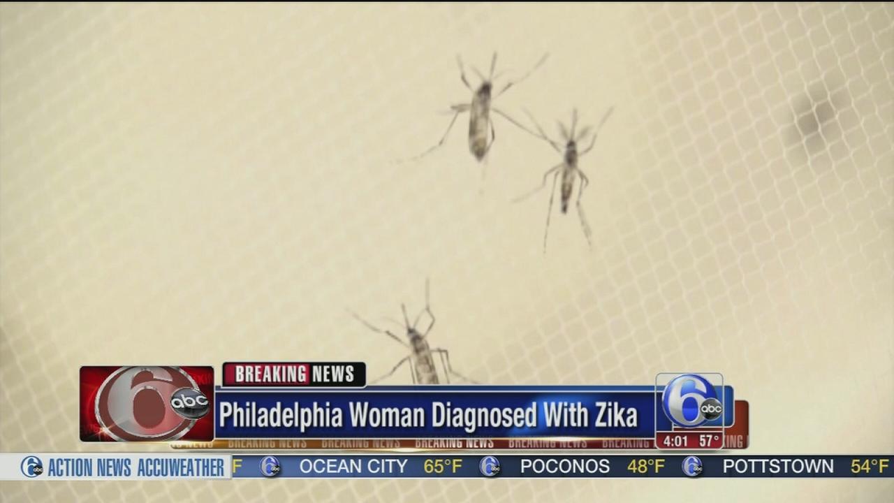 VIDEO: Philadelphia woman diagnosed with Zika virus