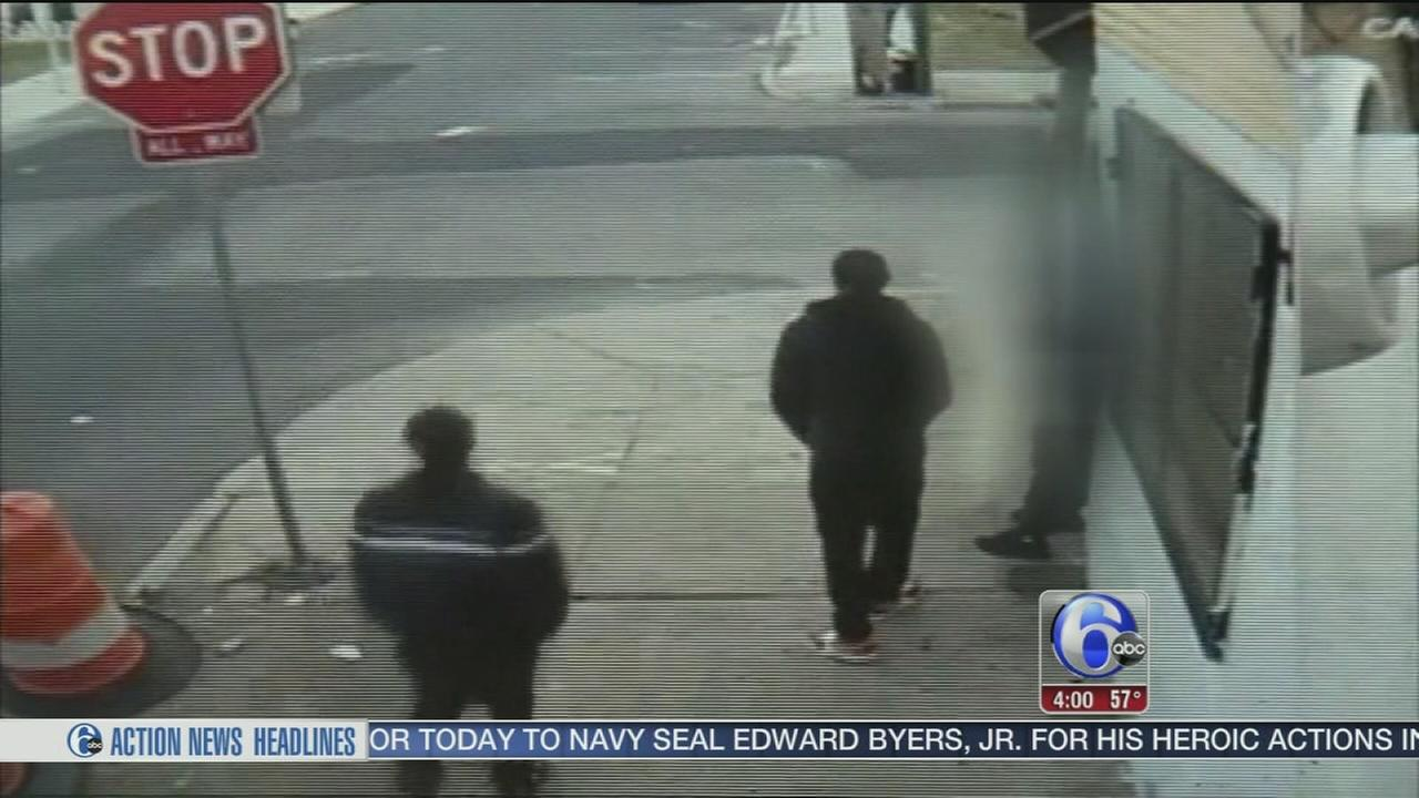 VIDEO: 2 teens injured in Grays Ferry drive-by shooting