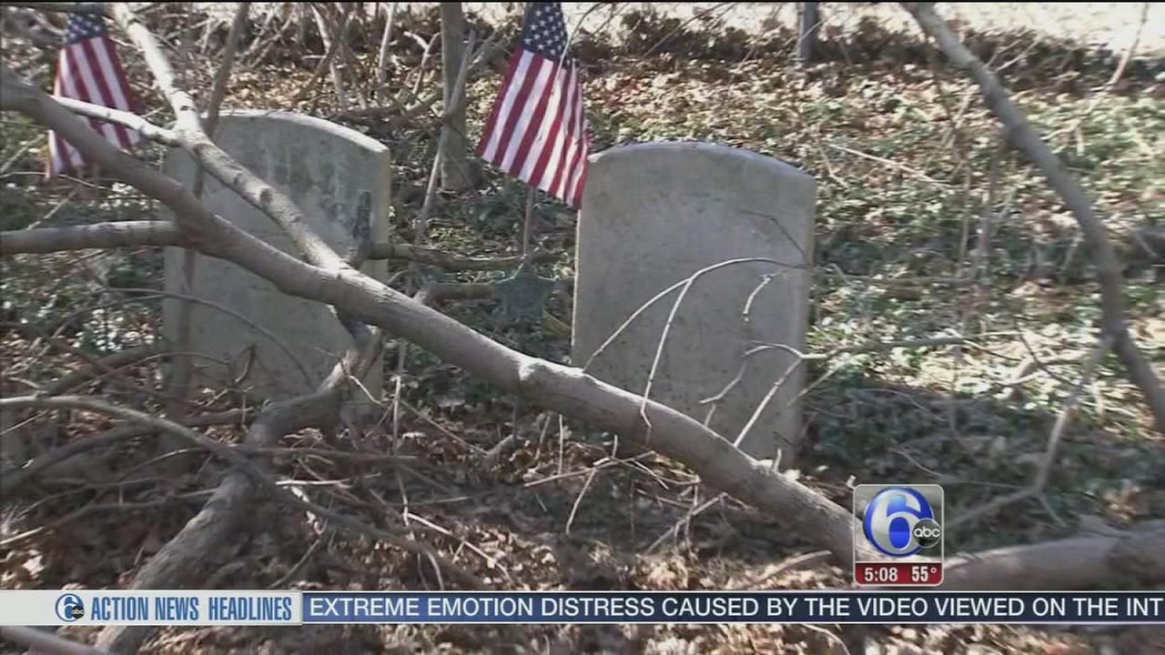 VIDEO: Mt. Holly Cemetery falls into disrepair