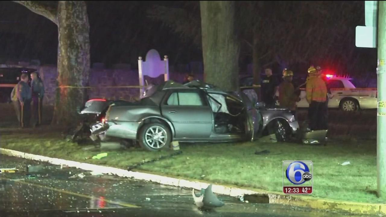 VIDEO: Police say driver of stolen car dead after crash