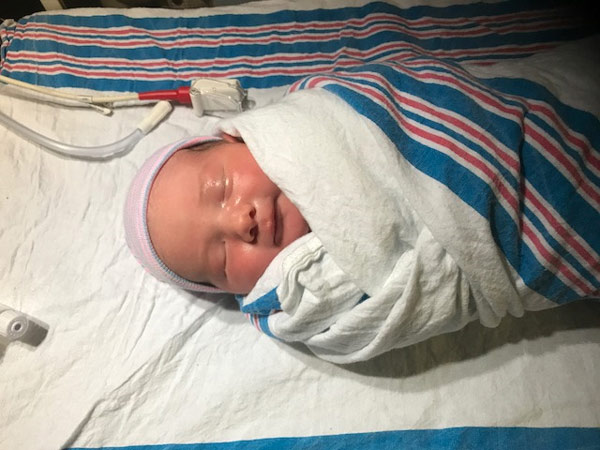 "<div class=""meta image-caption""><div class=""origin-logo origin-image wpvi""><span>WPVI</span></div><span class=""caption-text"">The Action News family has grown again as reporter Katherine Scott welcomed a baby boy into the world.</span></div>"