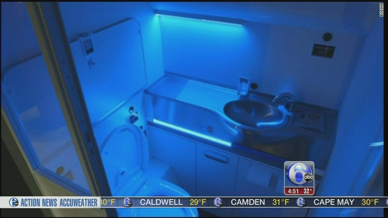 VIDEO: Boeing unveils self-cleaning airplane bathroom