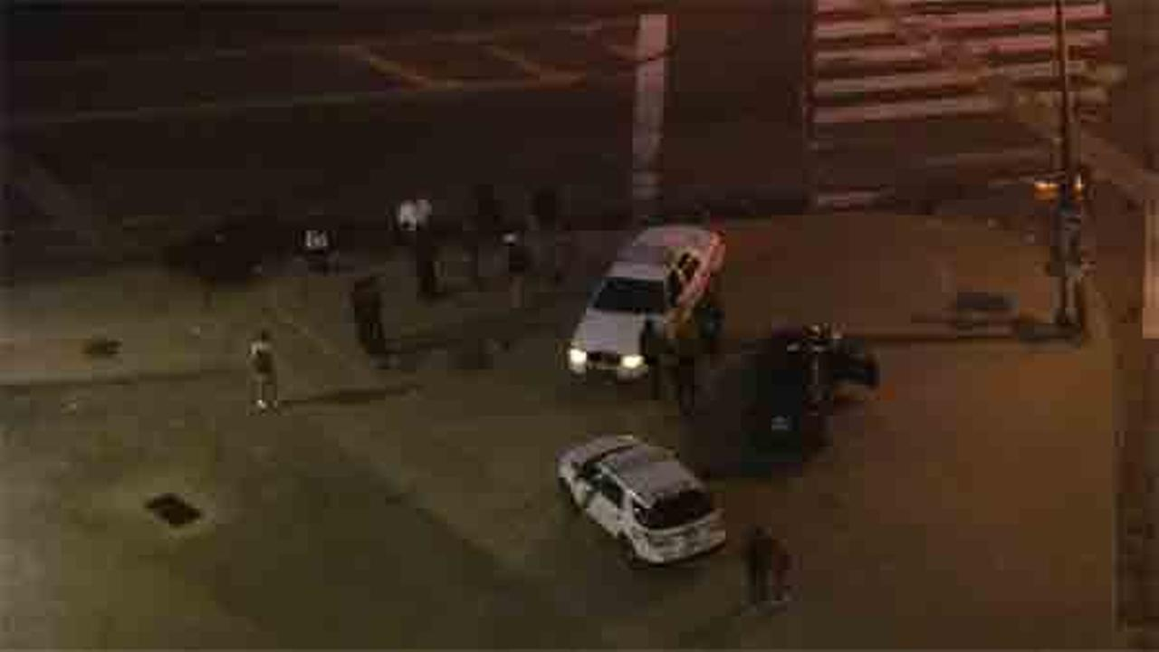 A 17-year-old male is hospitalized after being hit by a car in North Philadelphia.