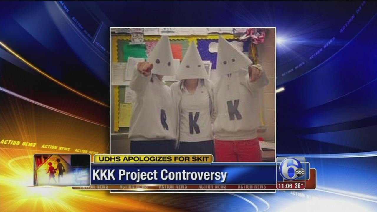 VIDEO: KKK project controversy