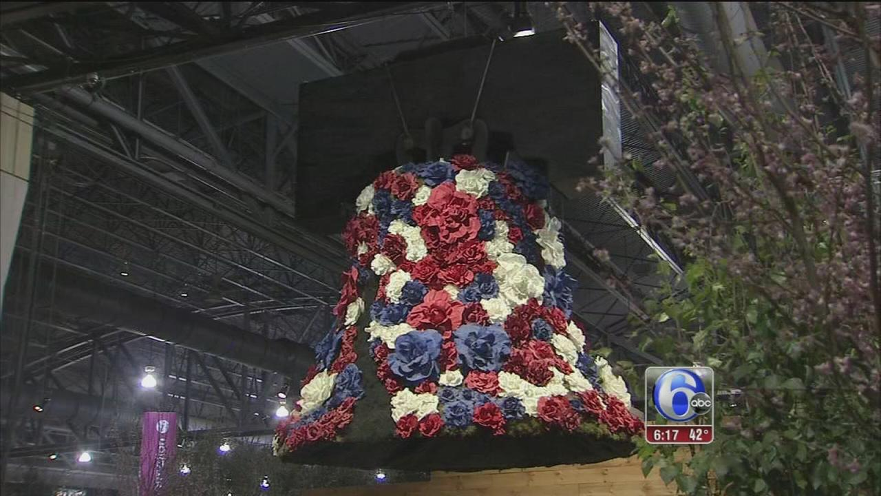 VIDEO: Opening day at the Philadelphia Flower Show