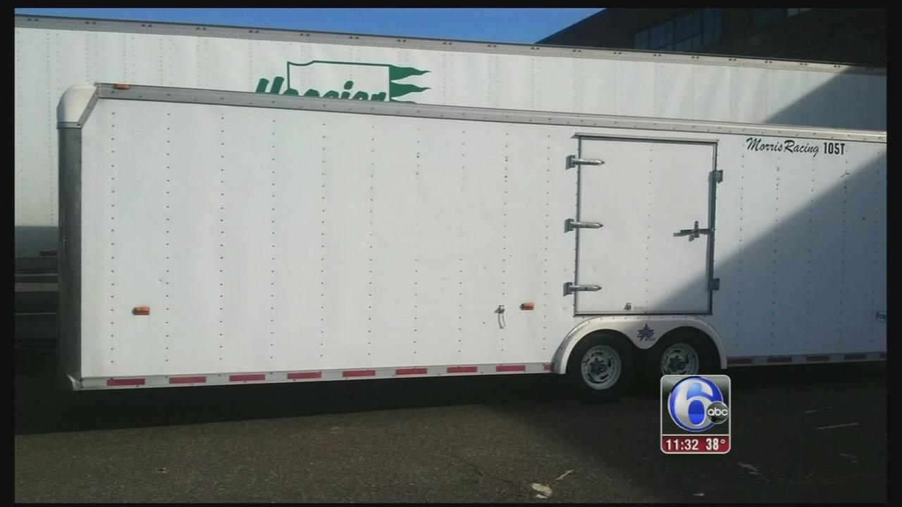 VIDEO: $1,000 reward posted in Yeadon trailer theft