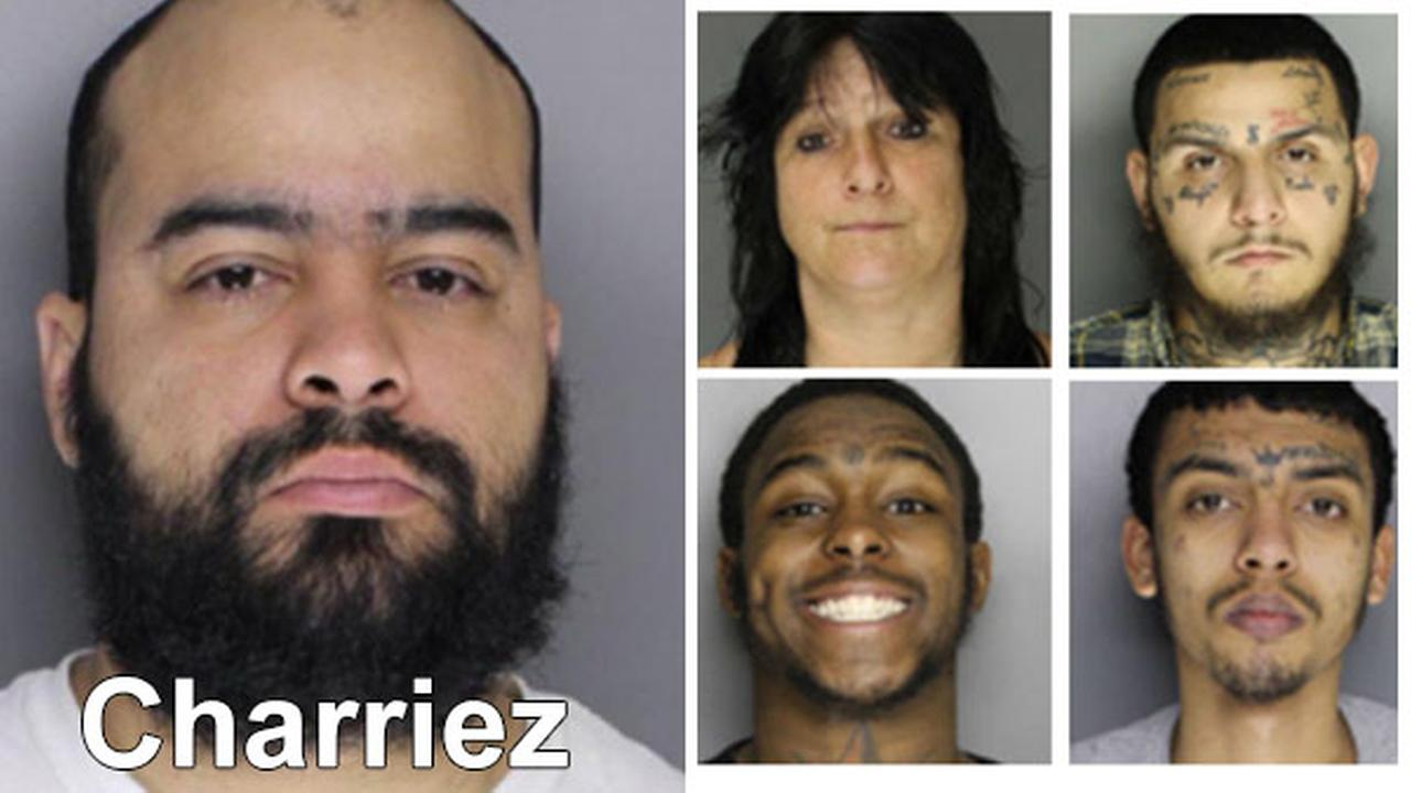 Alleged Montco gang leader charged by feds (PHOTOS)