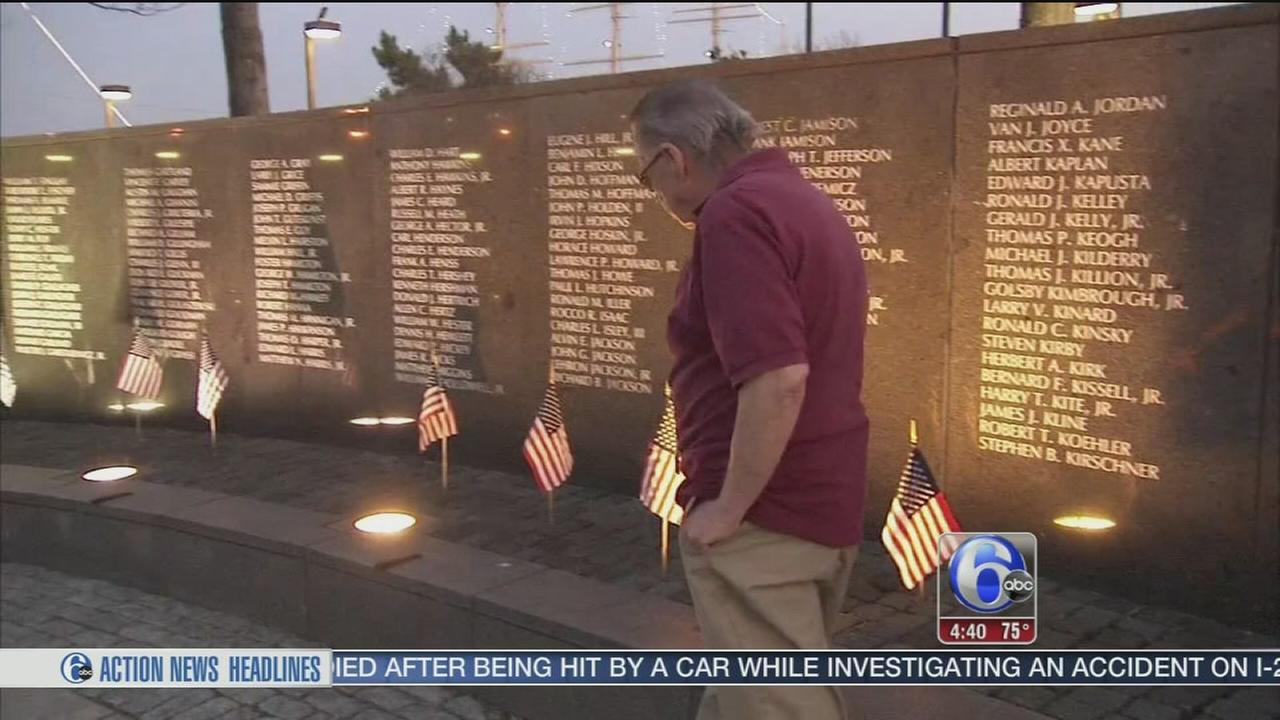 VIDEO: Vietnam Veterans Memorial vandalized in Penns Landing
