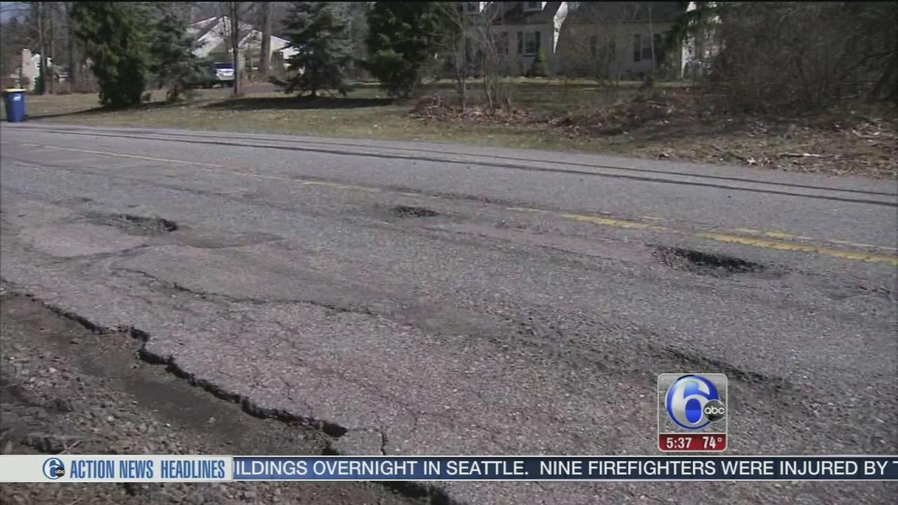 VIDEO: Pothole repairs