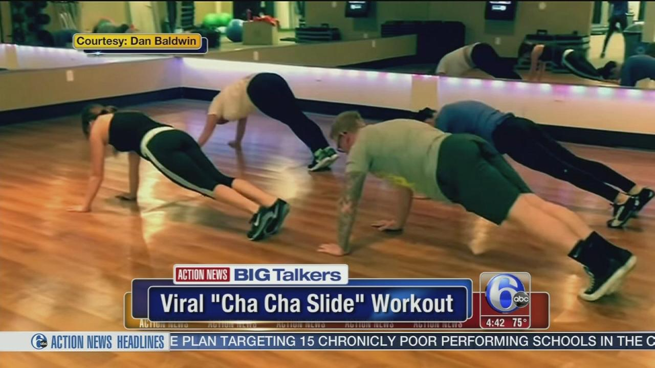 VIDEO: Cha Cha Slide workout video goes viral