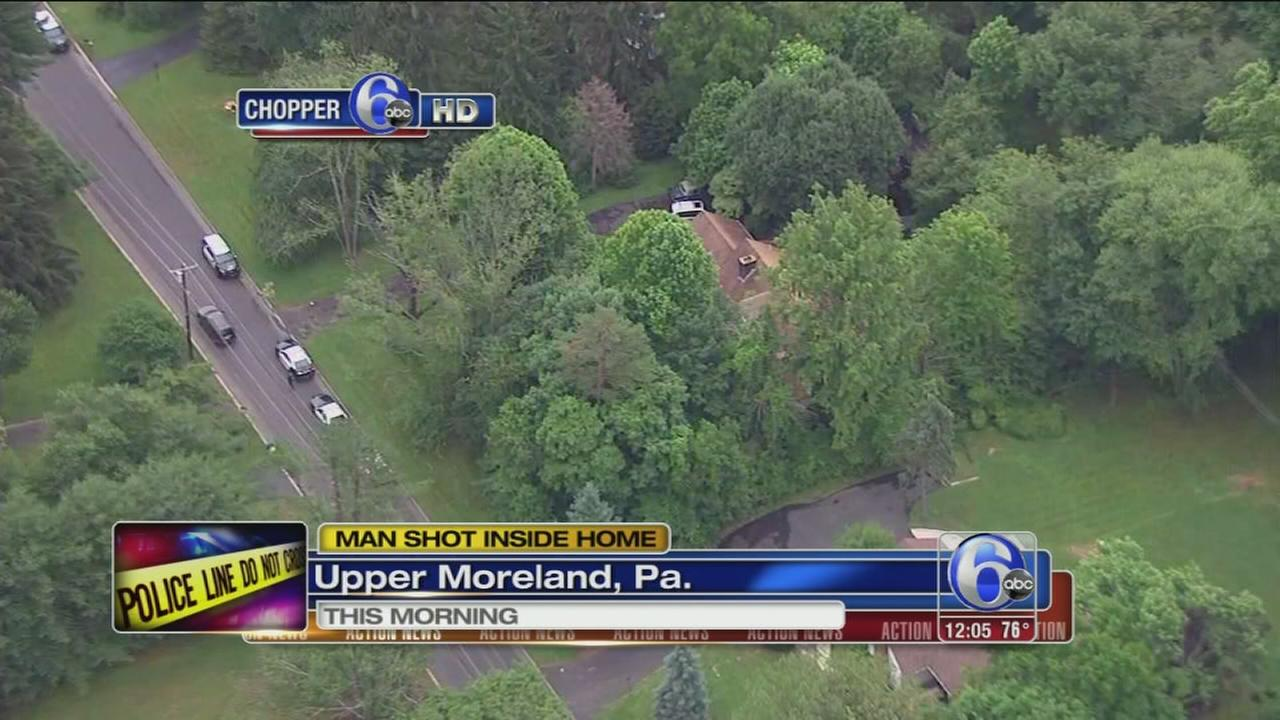 VIDEO: Man, 78, shot in Upper Moreland