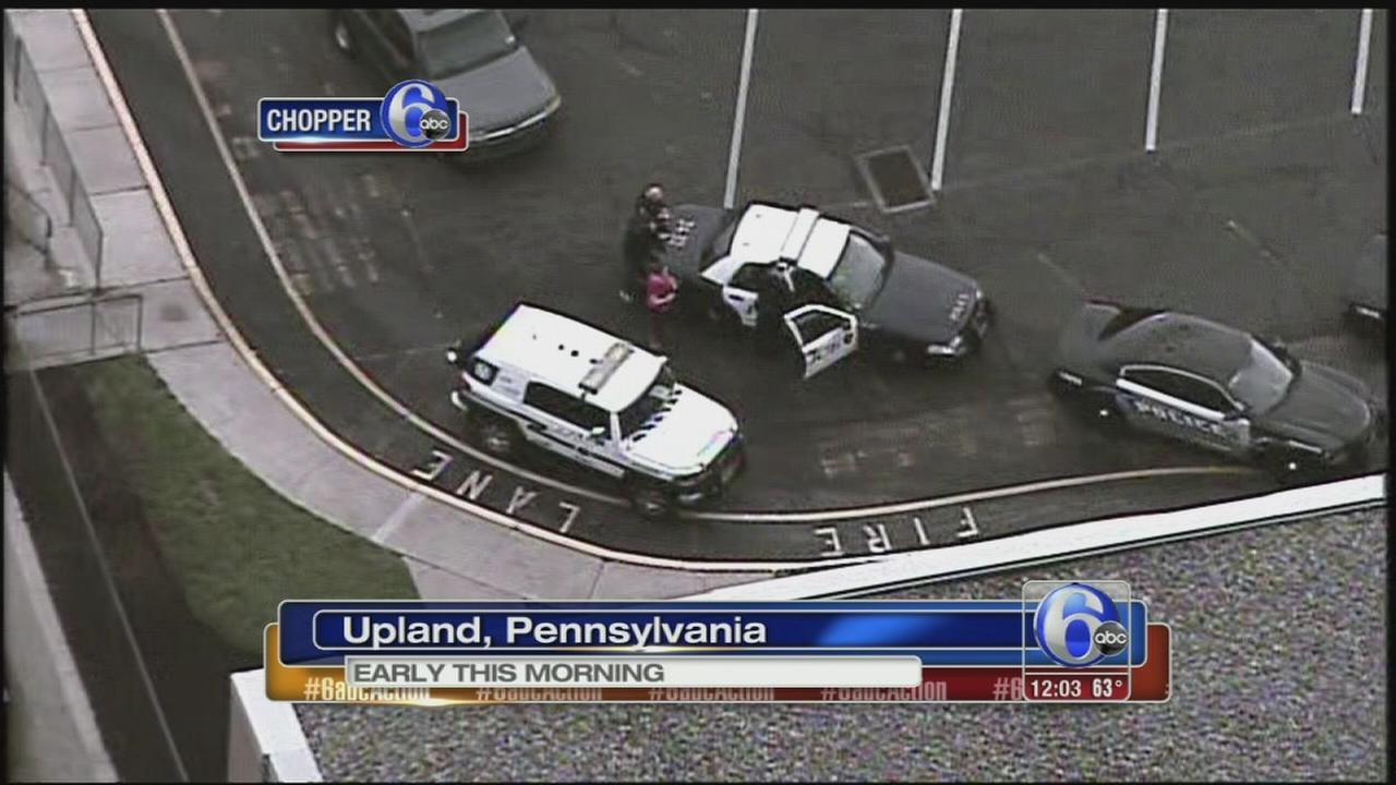 VIDEO: Body found outside Delco hospital