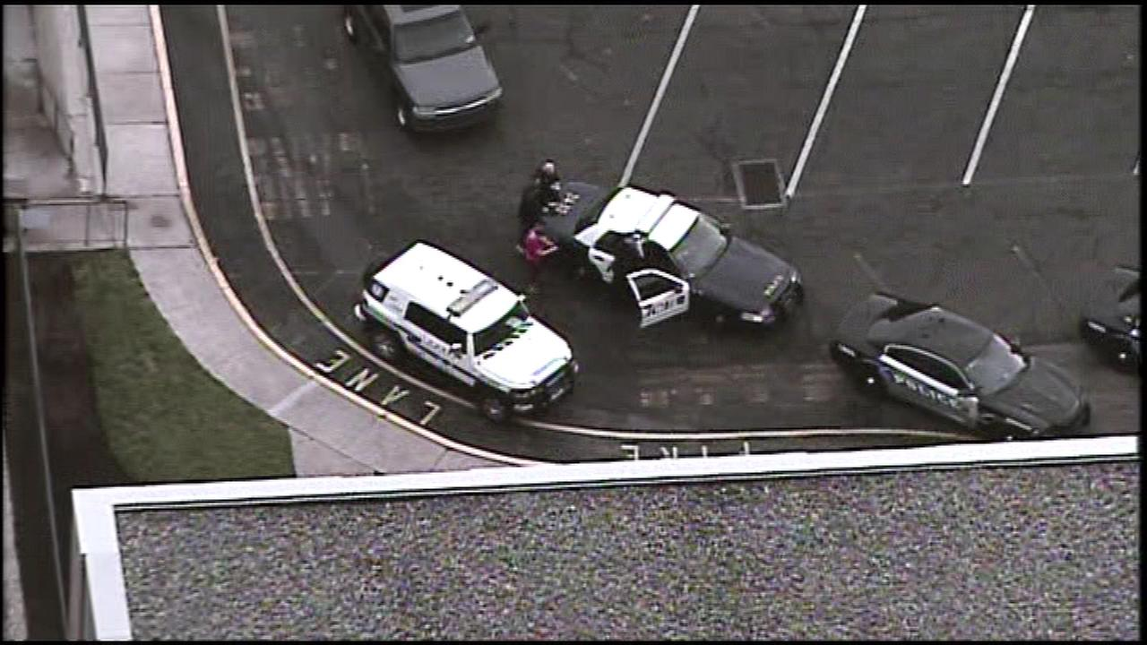 A body was found in a car parked near the emergency room entrance to Crozer-Chester Medical Center in Upland, Pa.