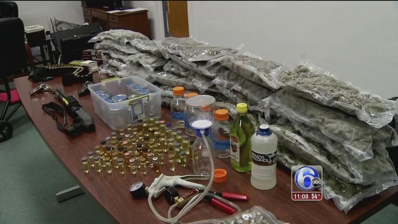 VIDEO: Elsmere drug bust