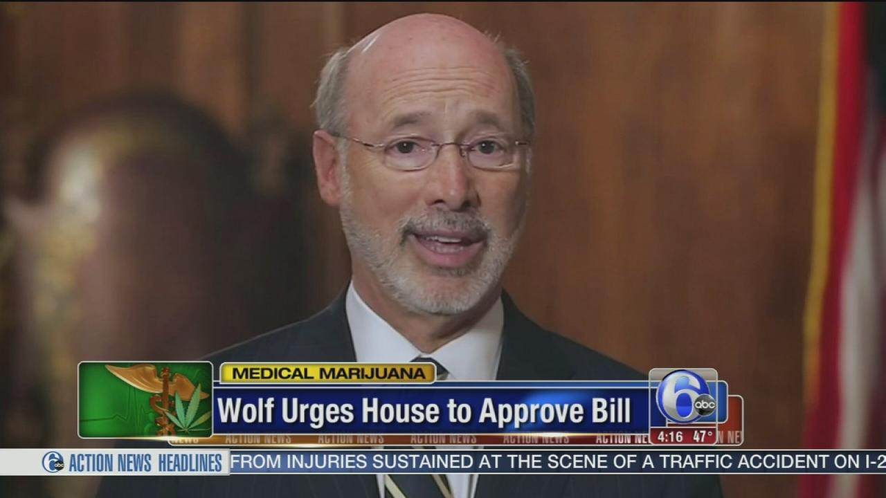 VIDEO: Gov. Wolf urges lawmakers to legalize medical marijuana