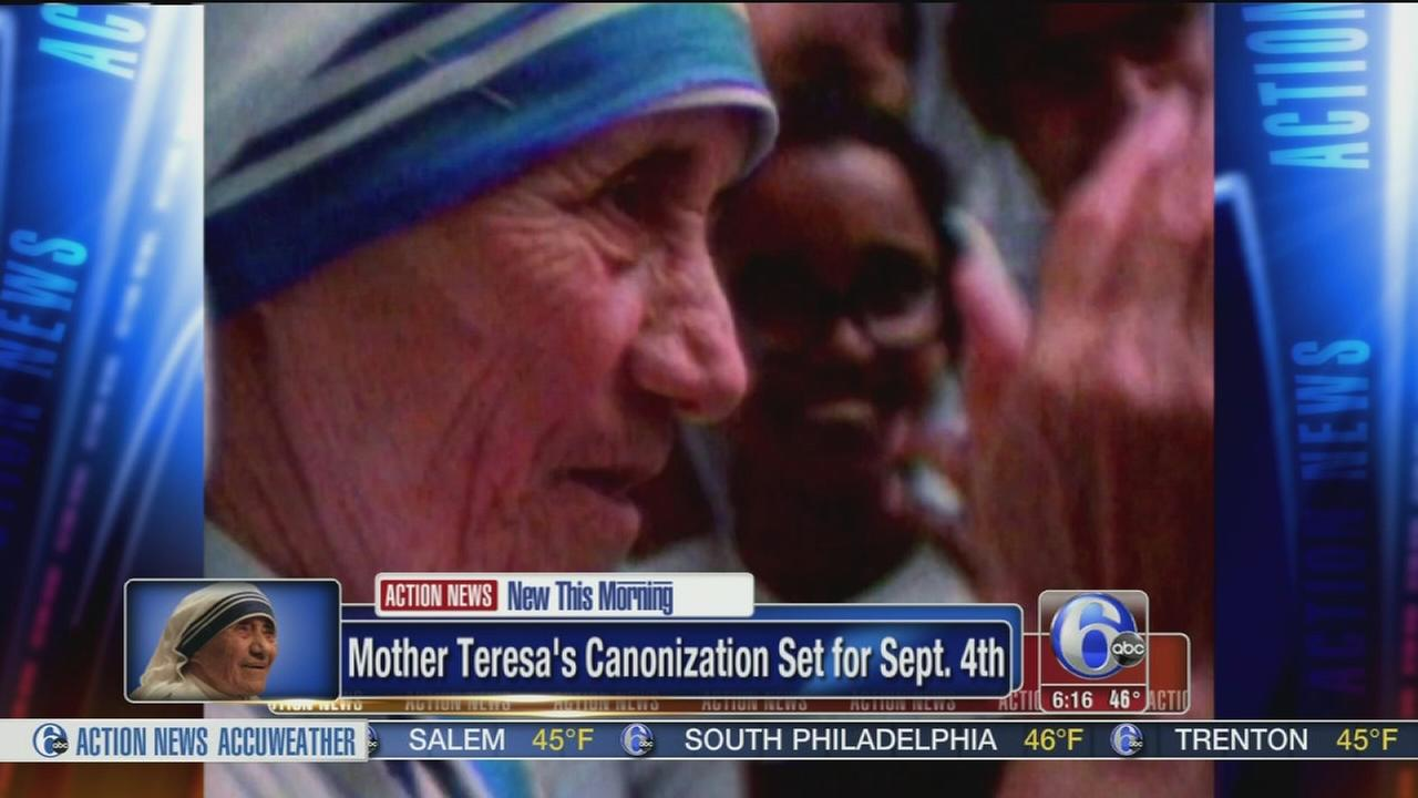 VIDEO: Mother Teresa to be made saint