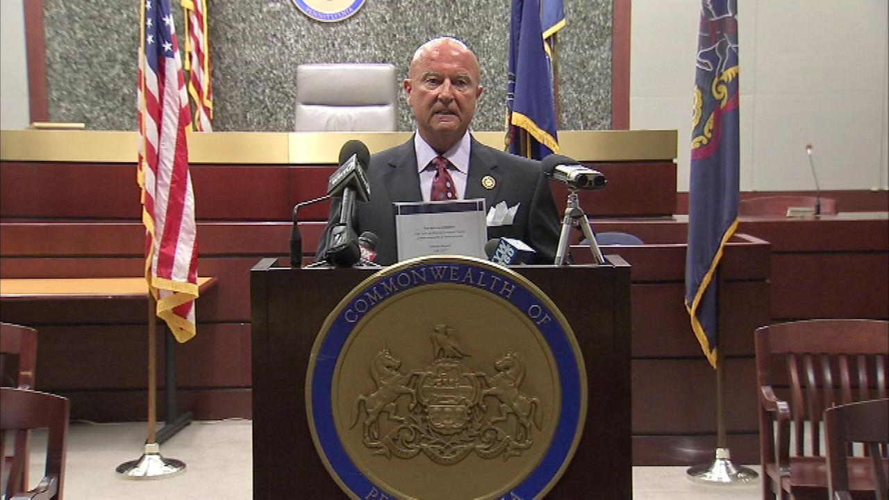 Two Pa. Supreme Court justices have stepped down in a widening scandal over explicit and offensive emails.  Justice Seamus McCaffery abruptly retired after being suspended in 2014.
