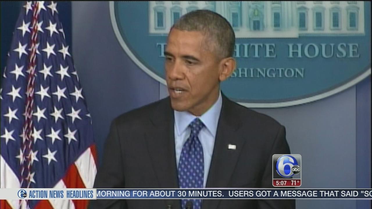 VIDEO: Obama: US sending military advisers to Iraq