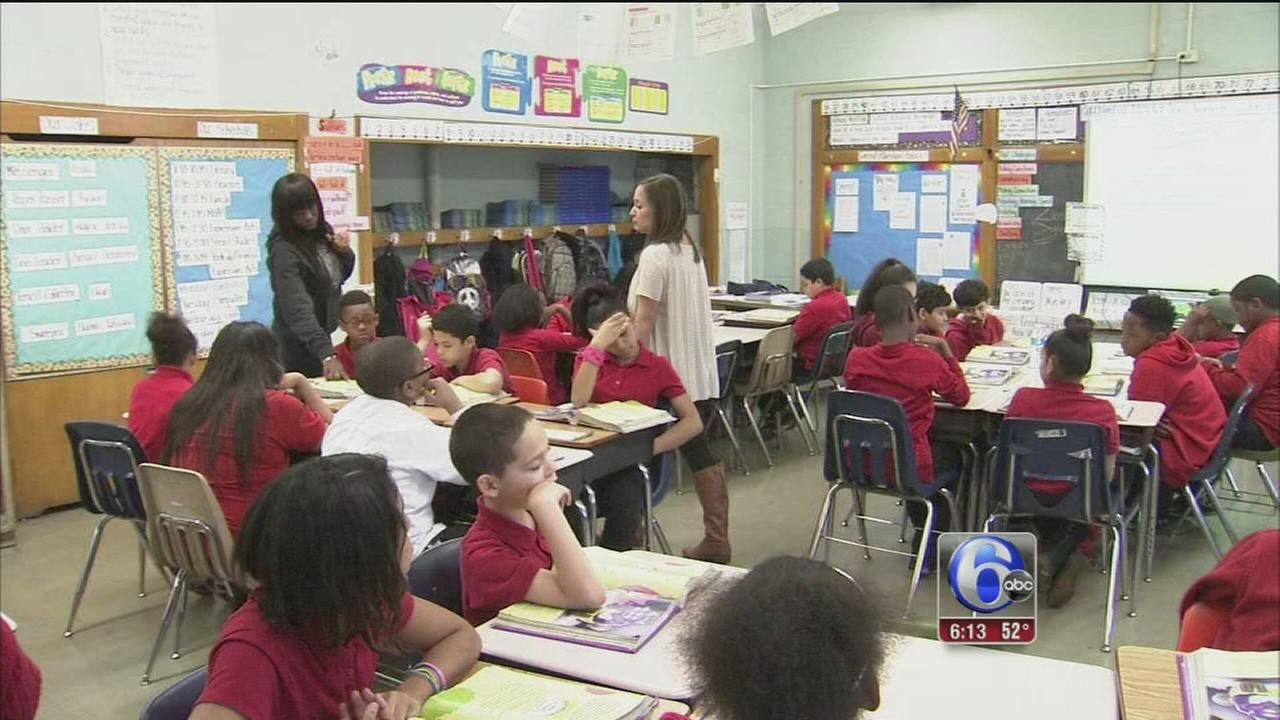VIDEO: Teachers stay at Spruance