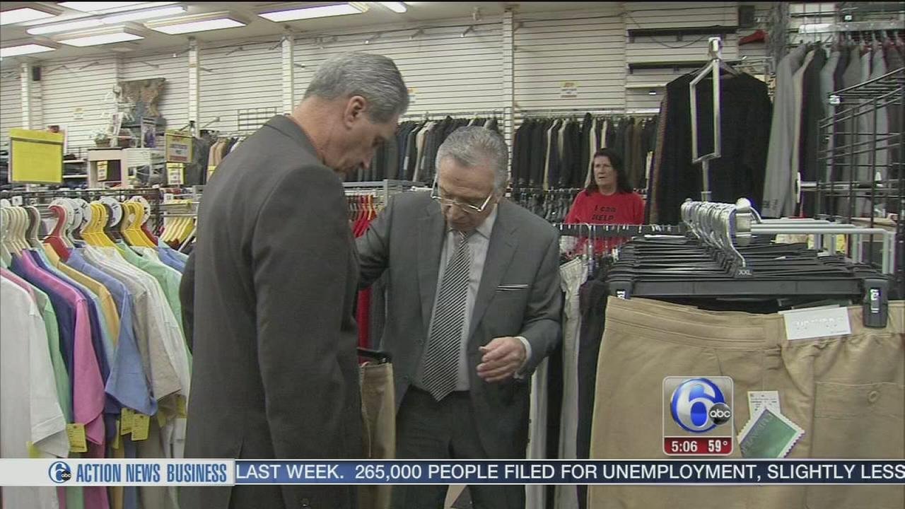 VIDEO: Clothier sells