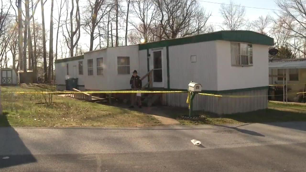 The Action Cam was on the scene at Park Place Trailer Park where a man was found dead on Friday.