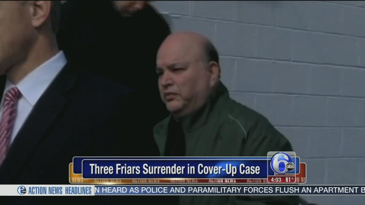 VIDEO: Friars are arraigned in child endangerment case