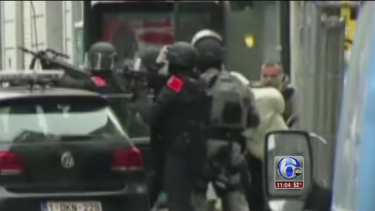 VIDEO: Paris suspect capture