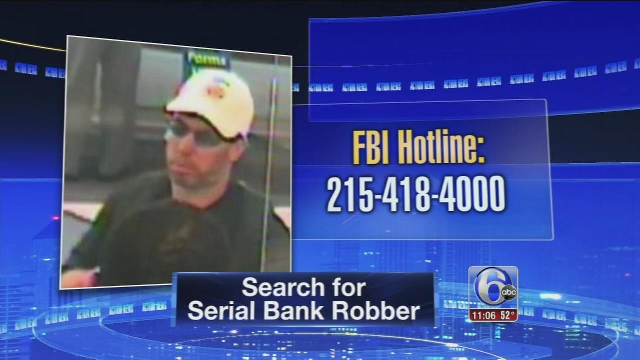 VIDEO: Serial bank robber