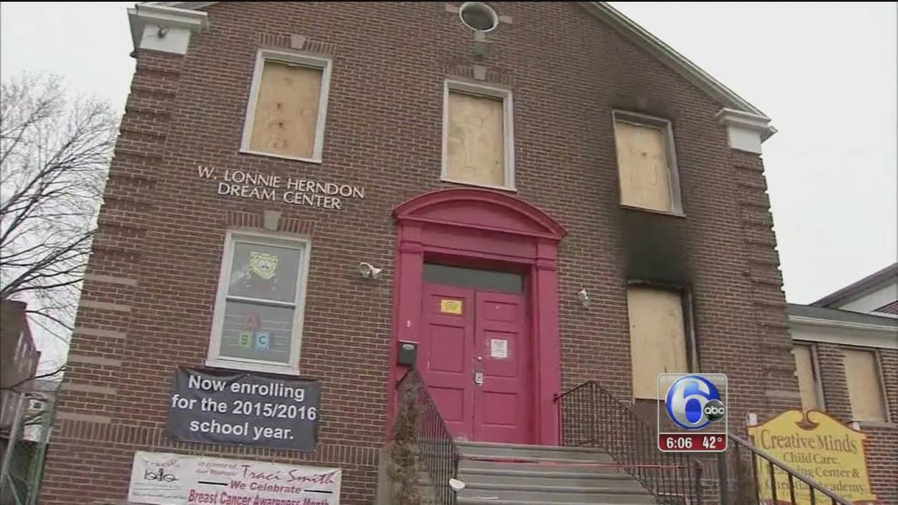 VIDEO: Church damaged by fire just before Palm Sunday