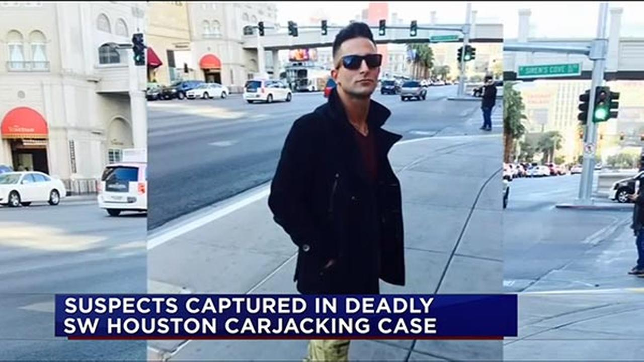 A man who made headlines for allegedly having sex on a Las Vegas Ferris wheel was killed over the weekend in a carjacking in Houston, Texas.