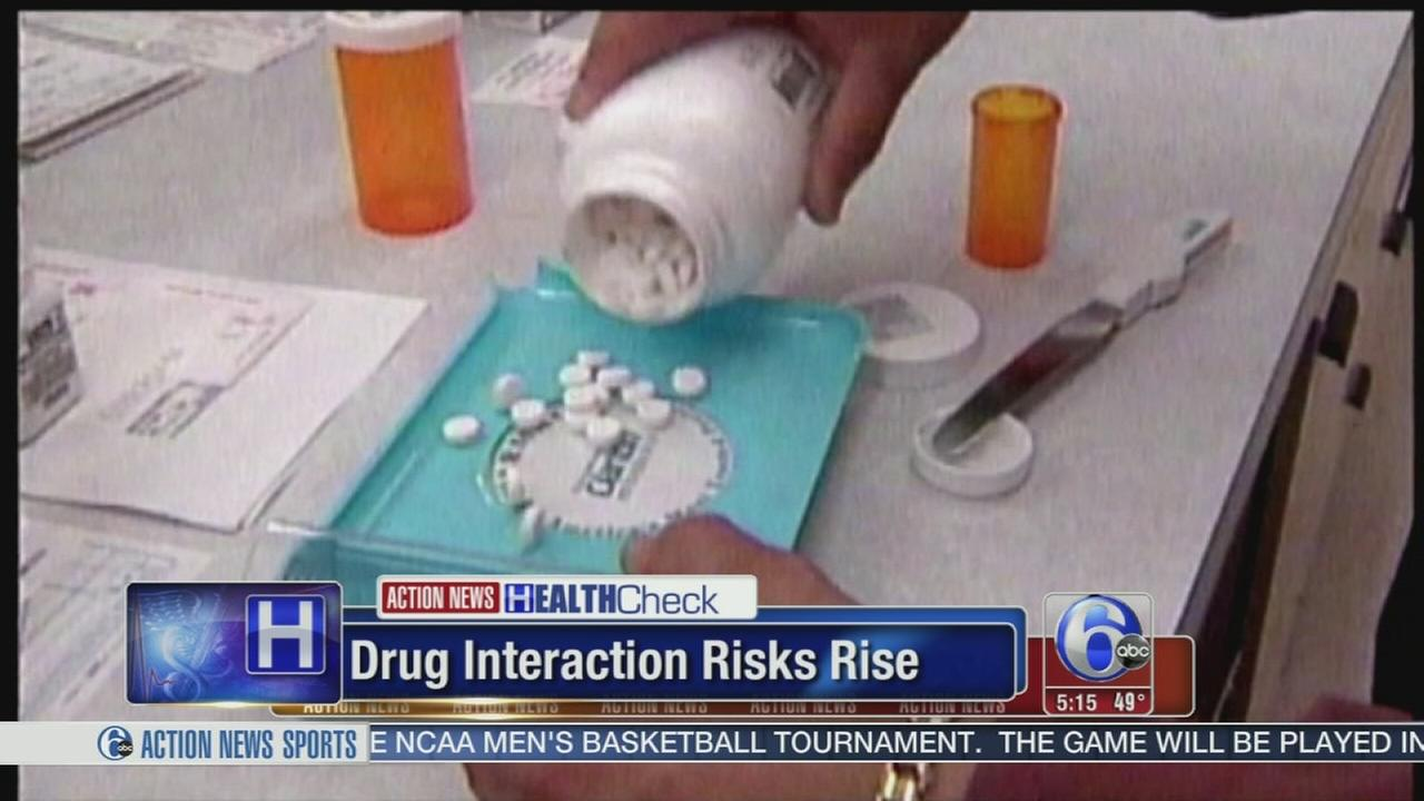 VIDEO: Drug interaction risks rise