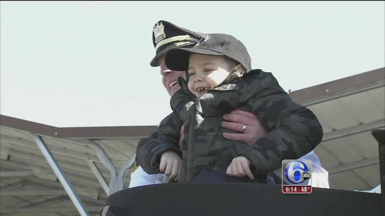 VIDEO: Boy sworn in as police officer