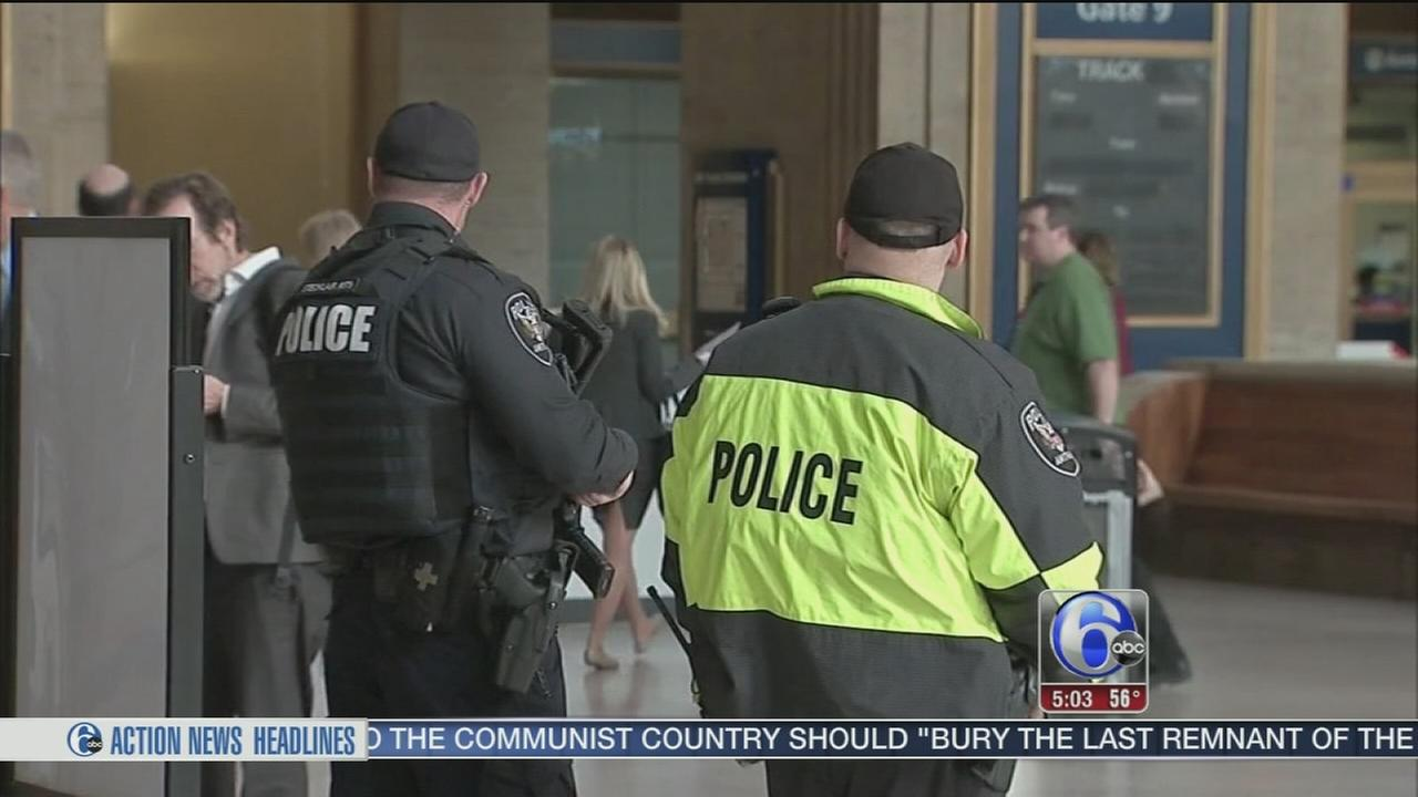 VIDEO: Security at 30th Street Station