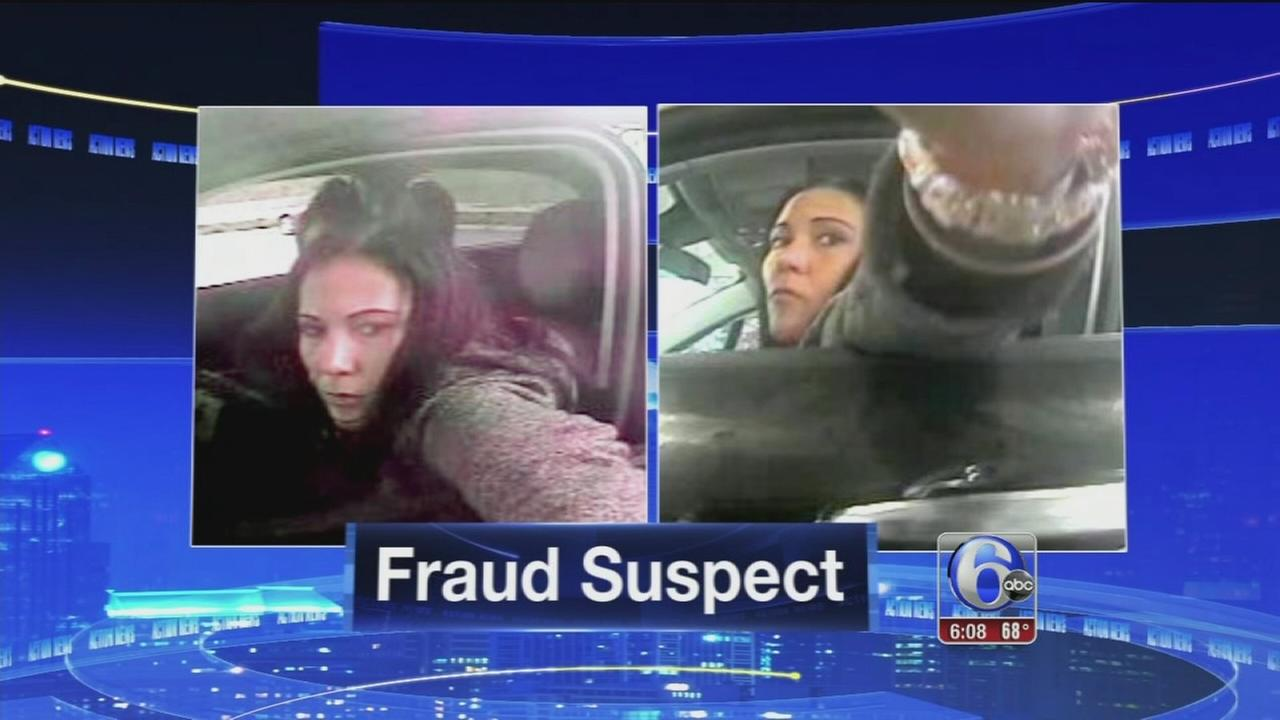 VIDEO: Credit card fraud suspect