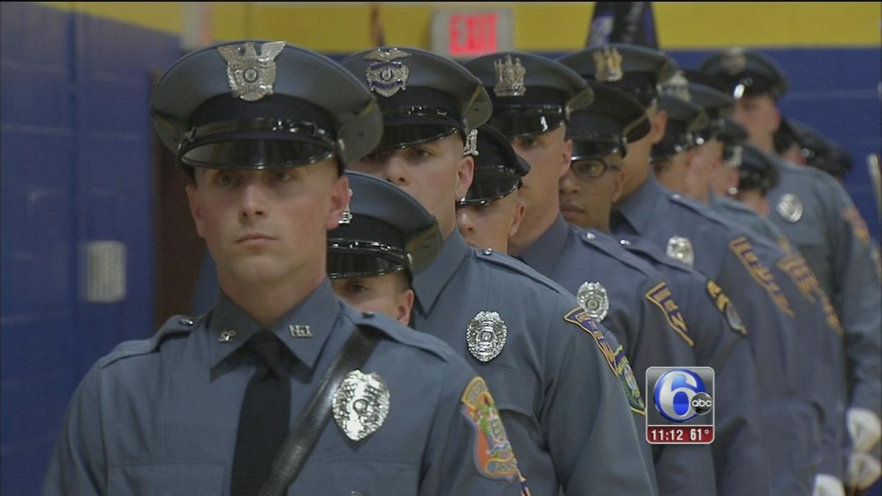 New graduates join the long line of blue