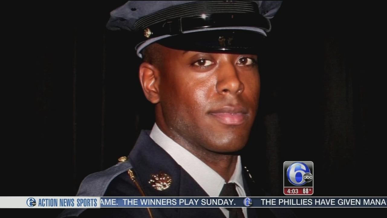 VIDEO: Funeral for Md. officer, Delco native killed by friendly fire