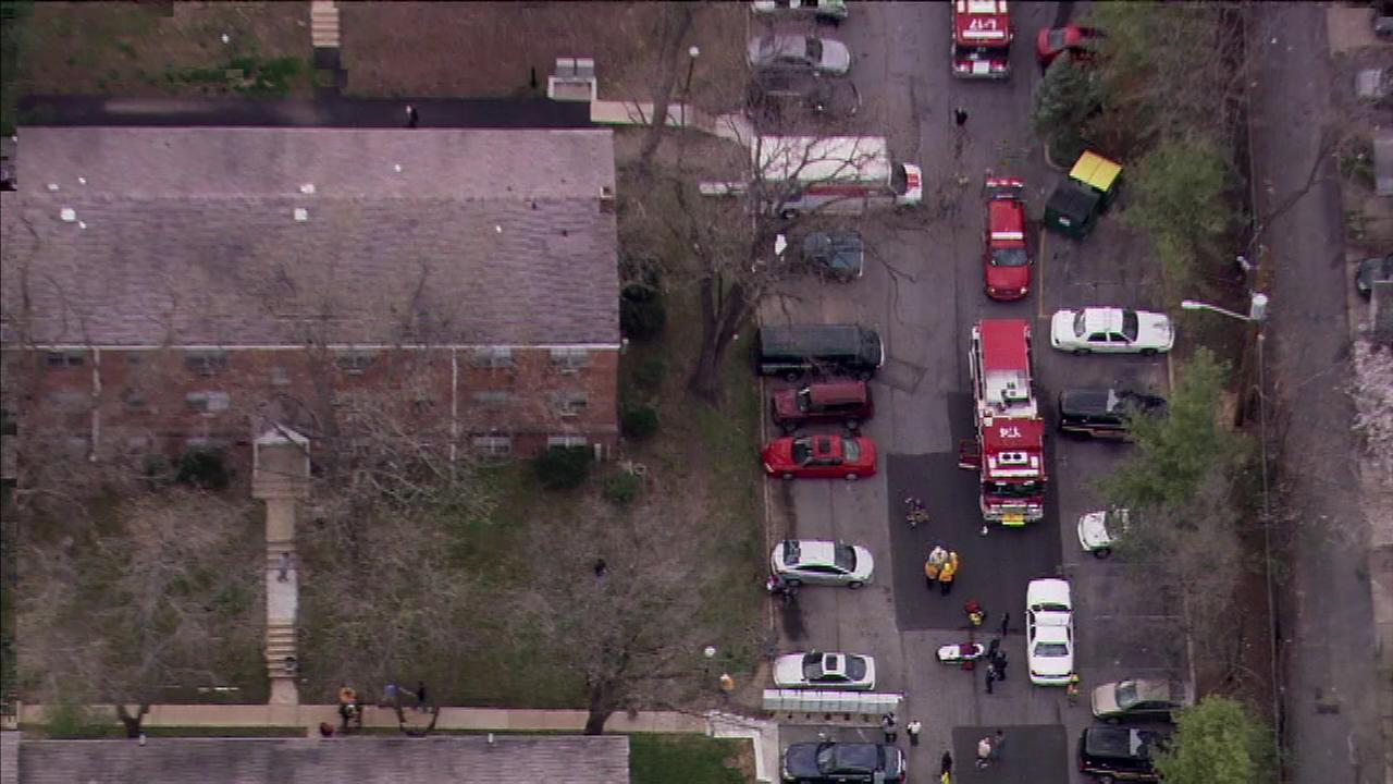 Chopper 6 was over the scene of a carbon monoxide incident in Wilmington, Delaware.