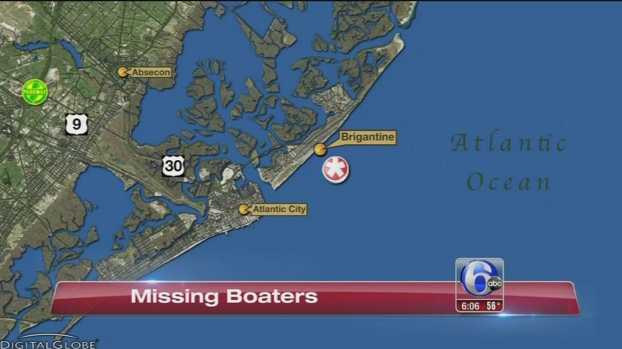 VIDEO: Missing boaters folo