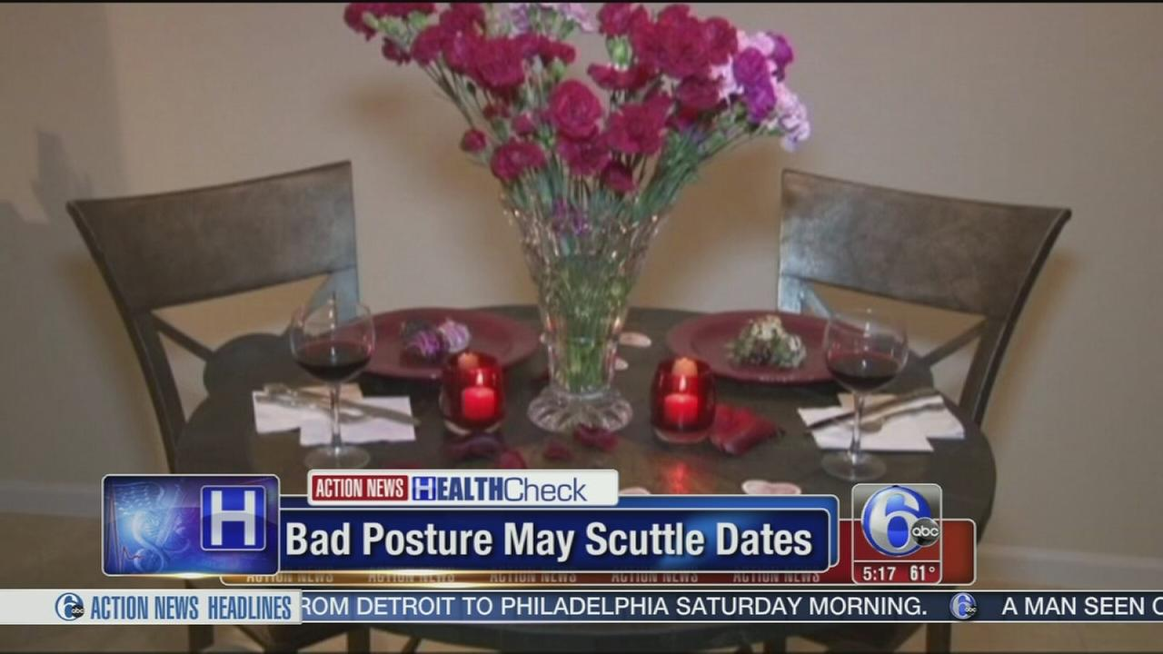 VIDEO: Bad posture may scuttle first dates